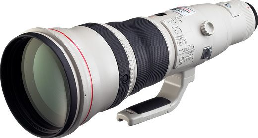 Ремонт Canon EF 800mm f/5.6 L IS USM